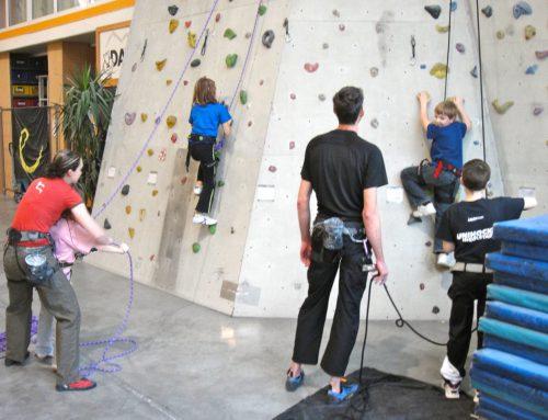 Besuch der DAV-Kletterhalle