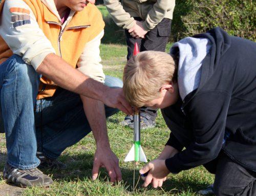 Jungstrupp lässt Raketen steigen
