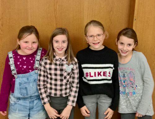 Mädchengruppe 1.-4. Klasse